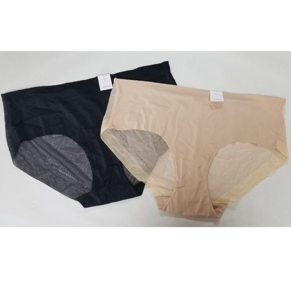 Auden Other - auden LOT OF 2 Panties // Invisible Edge HIpsters
